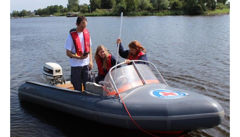 Ein Boot für die DRK-Wasserwacht in Dithmarschen