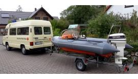 Ein Boot für die DRK-Wasserwacht in Dithmarschen 3
